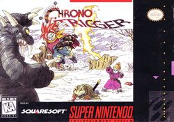 North American box art for Chrono Trigger