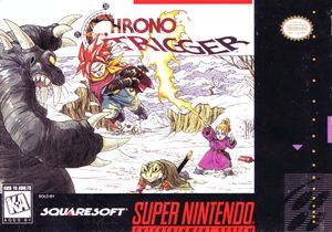 Chrono Trigger SNES Cover