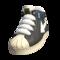 Black Velour Shoes On Feet
