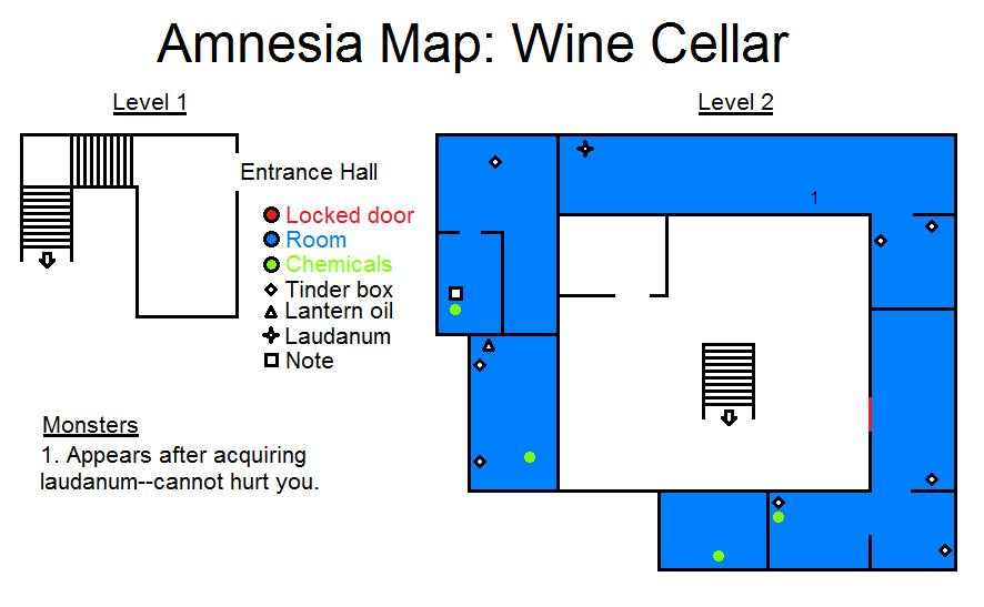 Amnesia The Dark Descent Wine Cellar Strategywiki The