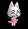 Animal Crossing Faceless Cat