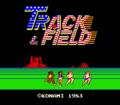 Track & Field / Hyper Sports Arcade Video Multi Game ...