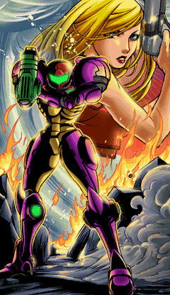 Samus Zero Mission artwork