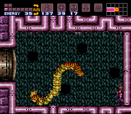 Super Metroid Its A Pain To Kill And On Top Of That I Dont Think Very Interesting Boss Either