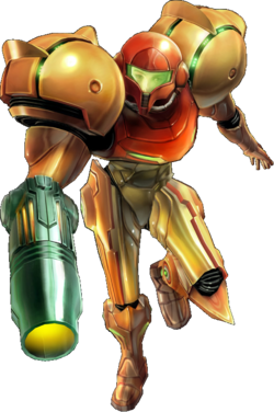 Prime artwork of Samus