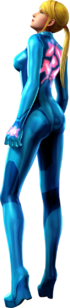 Zero Suit Samus's artwork from Other M