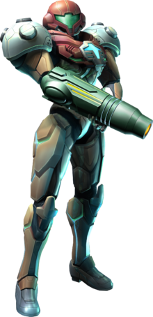 Artwork of Samus from Metroid Prime 3: Corruption