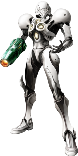 Echoes artwork of Samus
