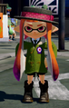 Classic straw boater + forge inkling parka + octoling boots.png