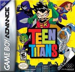 Box artwork for Teen Titans.
