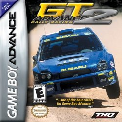 Box artwork for GT Advance 2: Rally Racing.