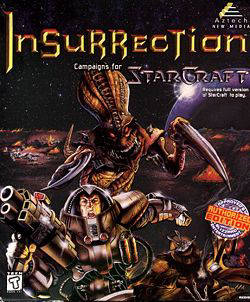 Box artwork for StarCraft: Insurrection.