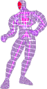 SSBM Trophy Male Wire Frame.png