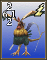 FFVIII Cockatrice monster card.png