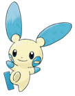 Pokemon 312Minun.png