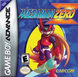 Box artwork for Mega Man Zero.