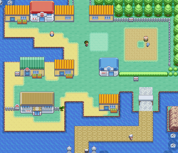 Pokémon FireRed and LeafGreen/Vermilion City — StrategyWiki, the