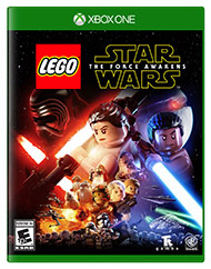 Box artwork for LEGO Star Wars: The Force Awakens.