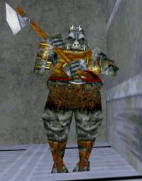 Swjkdf Enemy Gamorrean Guard on Thermal Game