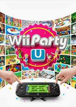 Box artwork for Wii Party U.