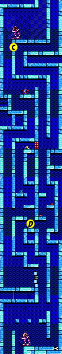 Mega Man 2 map Flash Man C.png