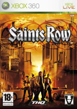 Box artwork for Saints Row.