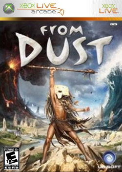 Box artwork for From Dust.