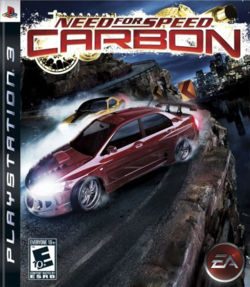 Box artwork for Need for Speed: Carbon.