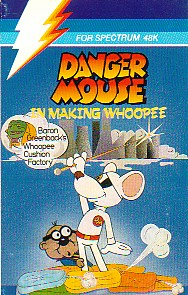 Box artwork for Danger Mouse in Making Whoopee.