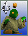 FFVIII Tonberry King monster card.png