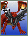 FFVIII Ruby Dragon monster card.png