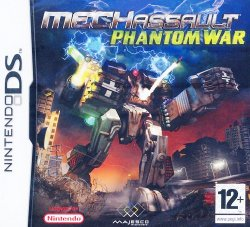 Box artwork for MechAssault: Phantom War.