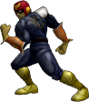 SSBM Trophy Capt. Falcon Smash1.png