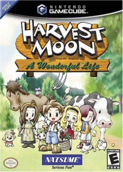 Box artwork for Harvest Moon: A Wonderful Life.