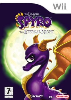 Box artwork for The Legend of Spyro: The Eternal Night.