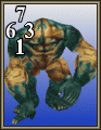 FFVIII Wendigo monster card.png