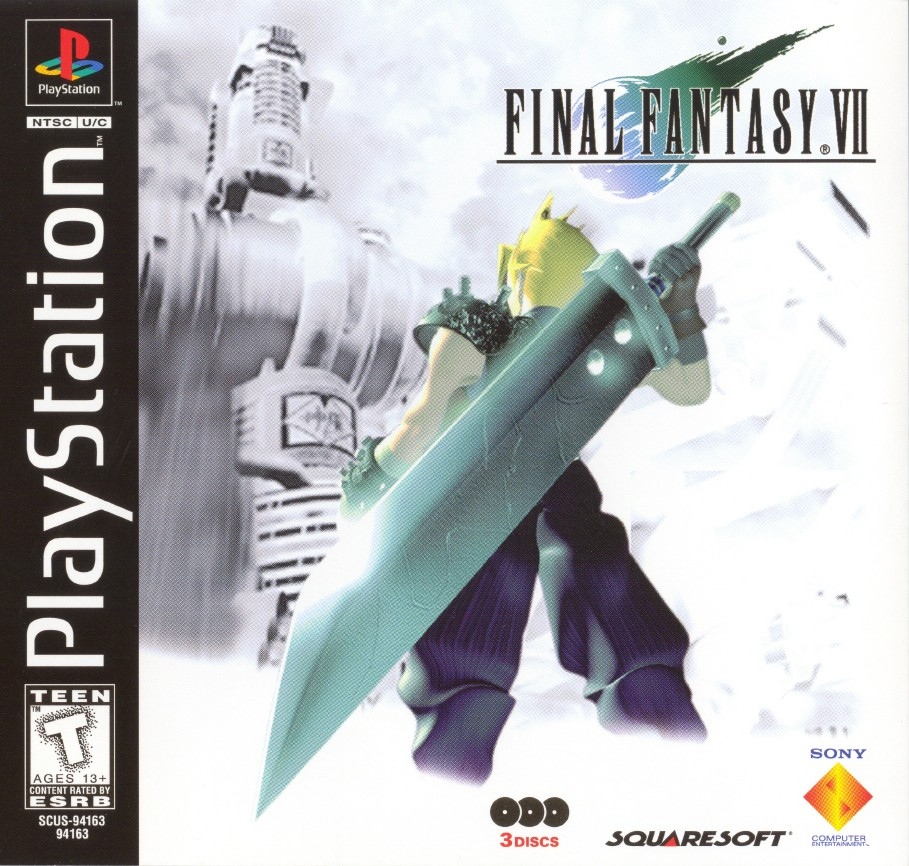 Box artwork for Final Fantasy VII.