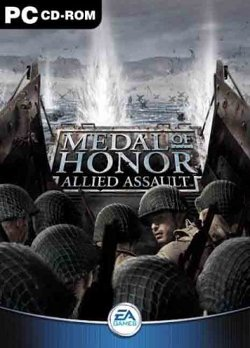 Box artwork for Medal of Honor: Allied Assault.
