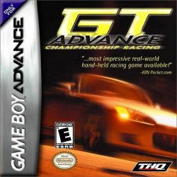 Box artwork for GT Advance Championship Racing.