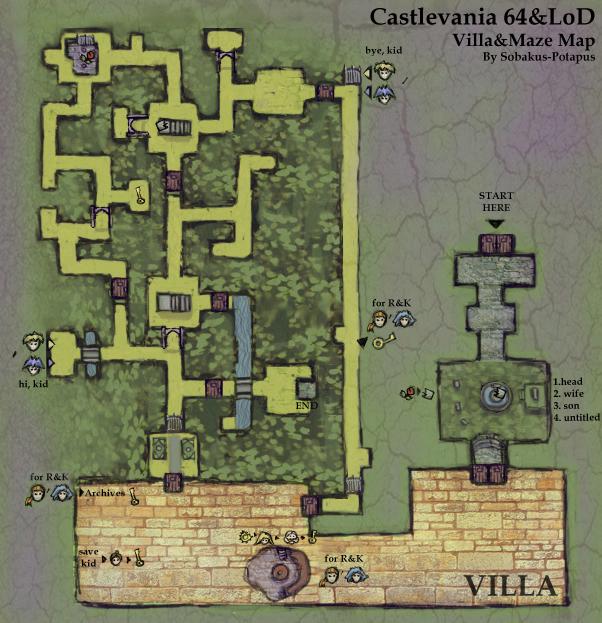 Castlevania 64 Villa Strategywiki The Video Game