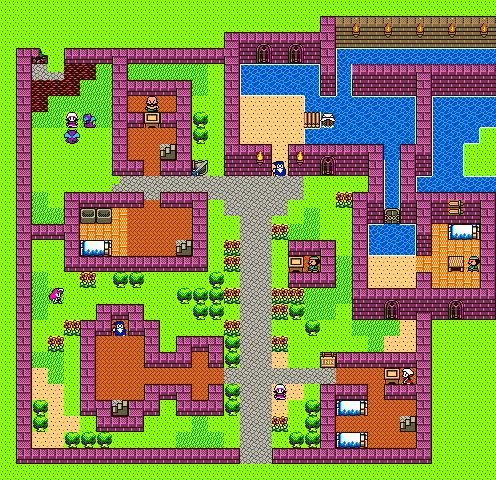 How the Heck do you Design a Town? Topic :: rpgmaker net