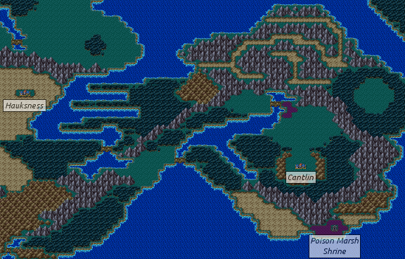 Dragon Warrior Iii West And South Alefgard Strategywiki The Video Game Walkthrough And