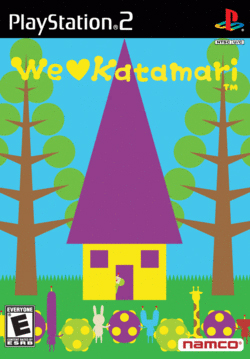 Box artwork for We ♥ Katamari.