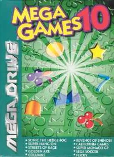 Box artwork for Mega Games 10.