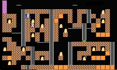 Super Lode Runner 2P level13.png