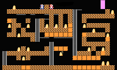 Super Lode Runner 2P level12.png