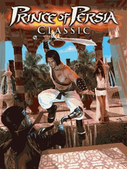 Box artwork for Prince of Persia Classic.