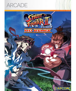 Box artwork for Super Street Fighter II Turbo HD Remix.