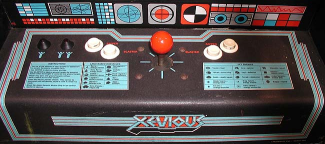 Xevious cpanel.png