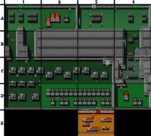 Metal Gear Nes B1 Floor 1 Strategywiki The Video Game